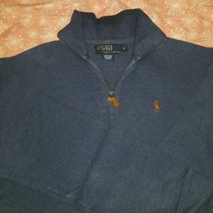 Men's Ralph Lauren 1/2zip sweater, size M